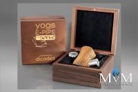 E-Zigarette, eZigarette, Box Mod, Akkuträger, Dicodes, Yogs E-Pipe one, 18650,  60 Watt