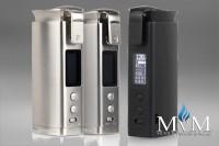 E-Zigarette, eZigarette, Box Mod, Akkuträger, Detonator, 20700, 21700, 12 Watt,  Squid Industries