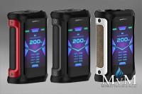 E-Zigarette, eZigarette, Box Mod, Akkuträger, Geekvape, Aegis X, 200 Watt