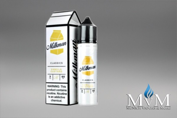 eLiquid, Shake & Vape, The Milkman,Custard, 50 ml