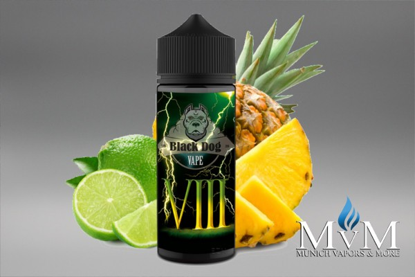E-Zigarette, eLiquid, Fill Up, Long Fill ,Black Dog, VIII , Aroma,20 ml