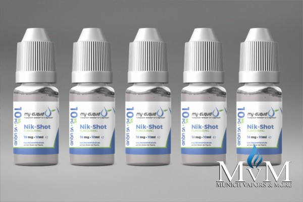 my-eLiquid 5er Bundle 18er Nikotin Shots 10ml