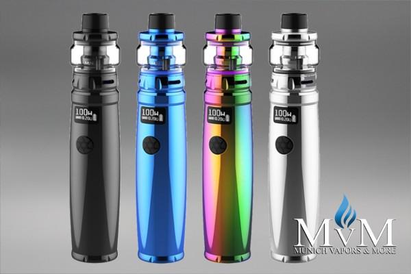 E-Zigarette, eZigarette, UWELL, Nunchaku 2, Starter Kit, 100 Watt,18650,20700,21700