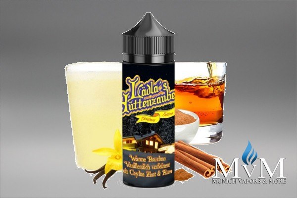 E-Zigarette, eLiquid, Fill Up, Long Fill ,Lädla Juice, Lädles Hüttenzauber, Warme Vanille, Aroma,20 ml