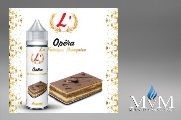 eLiquid,L'Opéra, La Fabrique Française, Flavor Sweets