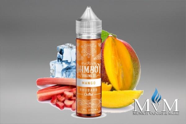 Ohmboy - Rhubarb Chilled Mango - Aroma - 15ml