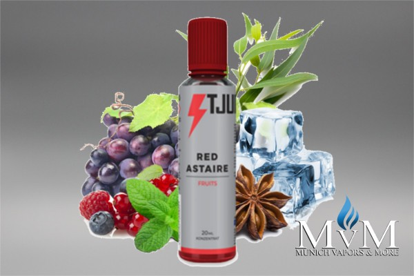 E-Zigarette, eLiquid, Fill Up, Short Fill ,T-Juice, Red Astaire, Aroma, 20 ml