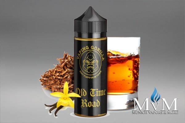 E-Zigarette, eLiquid, Fill Up, Short Fill ,Vaping Gorilla, Old Time Road, Aroma, 10 ml
