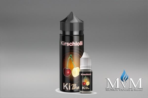 E-Zigarette, eLiquid, Fill Up, Short Fill ,Kirschlolli, Kiba, Aroma, 10 ml