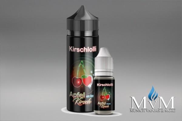 E-Zigarette, eLiquid, Fill Up, Short Fill ,Kirschlolli, Apfel Kirsch Cool, Aroma, 10 ml