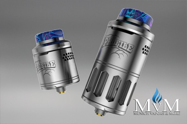 eZigarette, Atomizer, Verdampfer, Wotofo, Profile, RDTA, 25mm, 6,2 ml, SubOhm