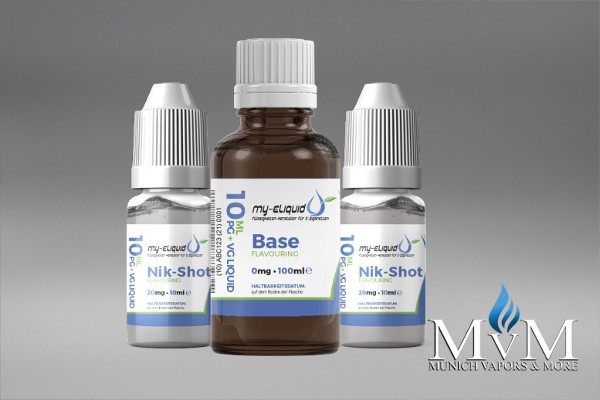 eLiquid, Nik-Shots, Basen Set,my-eLiquid