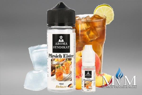 E-Zigarette, eLiquid, Fill Up, Short Fill ,Aromasyndikat, Pfirsich Eistee, Aroma, 10 ml
