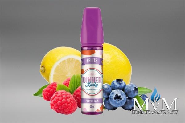 E-Zigarette, eLiquid, Fill Up, Short Fill ,Dinner Lady, Purple Rain, Aroma, 20 ml