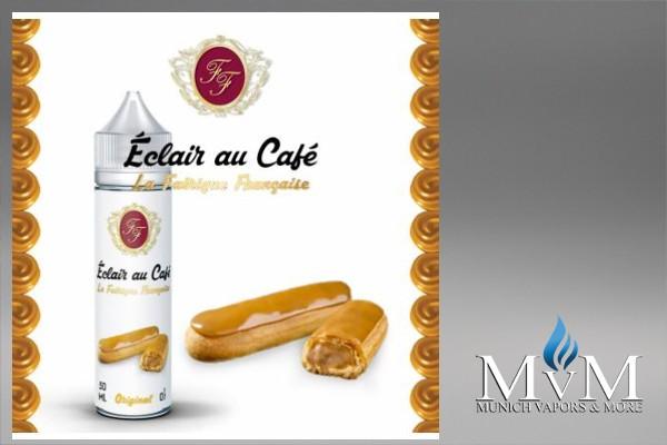 eLiquid, L'éclair au café, La Fabrique Française, Flavor Sweets