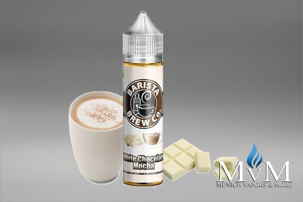 E-Zigaretten, eLiquid, Barista Brew, White Chocolate Mocha, Flavor Drinks, Coffee, Sweet