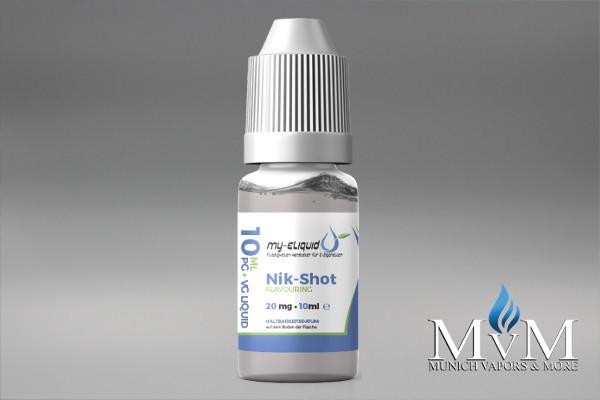eLiquid, Nik-Shots, 20 mg, my-eLiquid