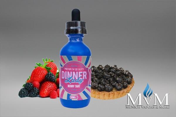 Dinner Lady - Blueberry Tart 50ml - Omg Nikotin