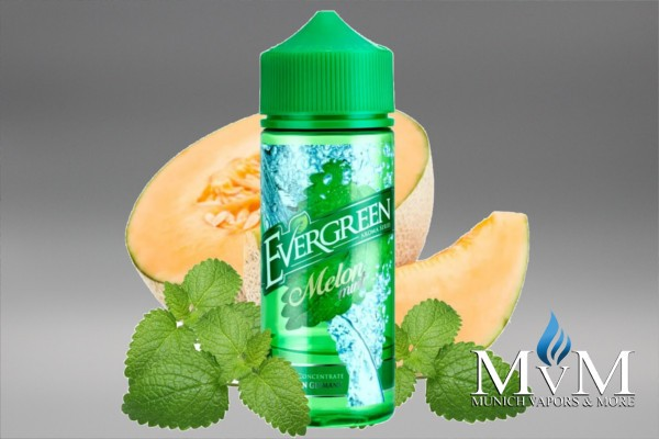 eLiquid, FillUp, Longfill, Evergreen, Melon Mint,30ml, Aroma