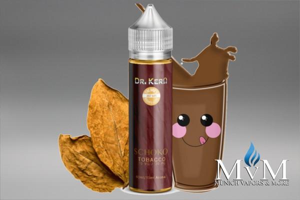 eAroma, eLiquid, Schoko Tobacco,  Dr. Kero, Flavor Tabacco, Flavor Sweet