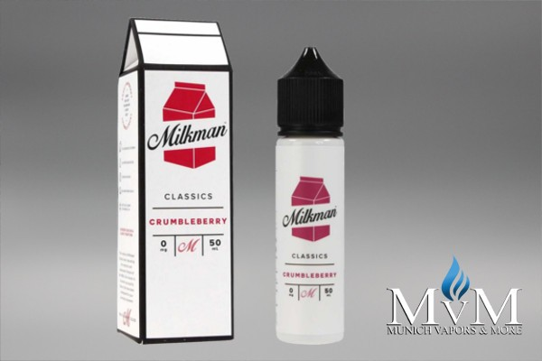 eLiquid, Shake & Vape, The Milkman,Crumbleberry, 50 ml