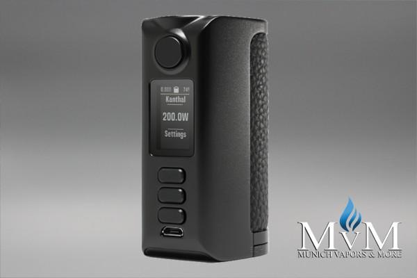 E-Zigarette, eZigarette, Box Mod, Akkuträger, Dovpo, Riva, DNA250C , 200 Watt