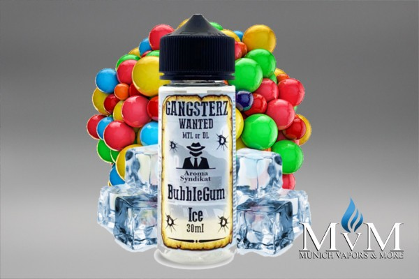 Gangster - Bubble Gum Ice - Aroma - 30ml by Gangsterz