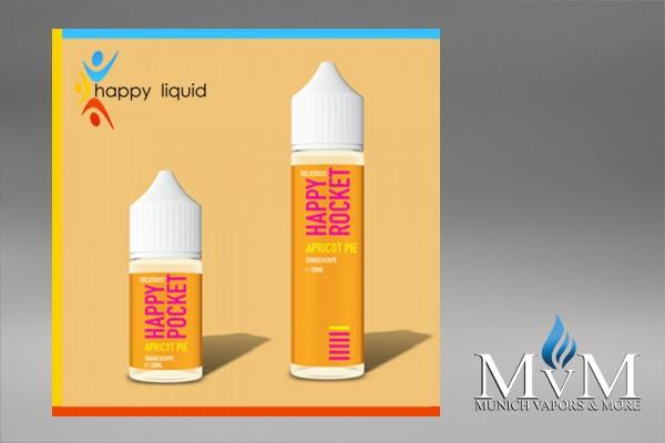 eLiquid, Shake & Vape, Happy Liquid, Apricot Pie, 20 ml