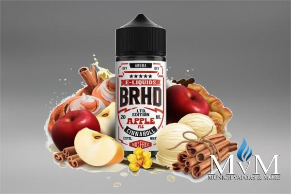 eLiquid, FillUp, Short Fill, Barehead, Cinnaroll, Apple Pie, Aroma, 20ml