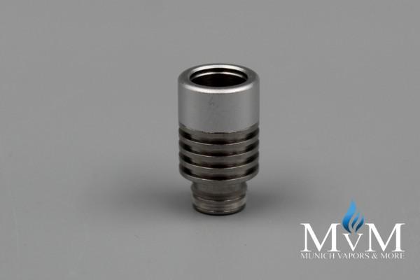 eZigarette, Verdampfer, 510er, Aluminium+Edelstahl  Drip Tip,