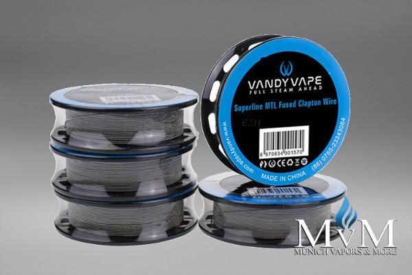 VandyVape - KA1 Superfine MTL Fused Clapton - Wickeldraht