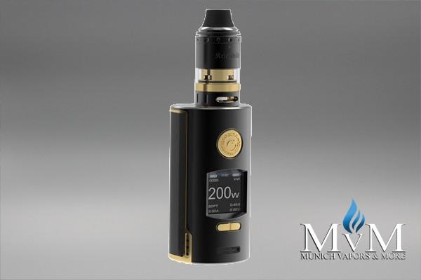 E-Zigarette, eZigarette, Box Mod, Akkuträger, Kriemhild Kit, VapeFly,200W