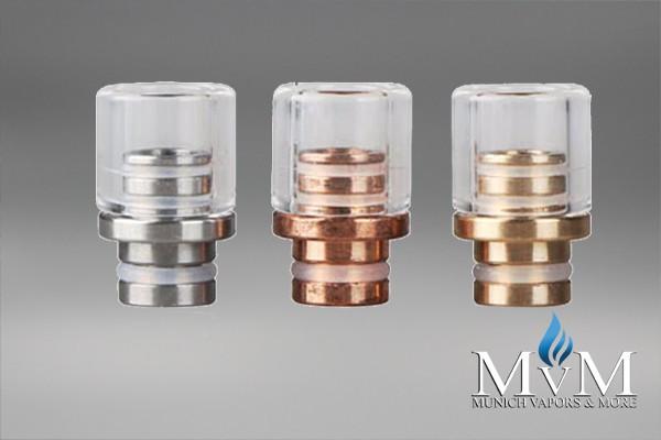 eZigarette, Verdampfer, Glas, Metal , Drip Tip, 510