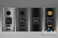 E-Zigarette, eZigarette, Box Mod, Akkuträger, Kriemhild, VapeFly,200W