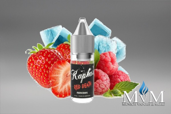 E-Zigarette, eLiquid, eAroma, Kapkas Flava, Red Death, 10ml