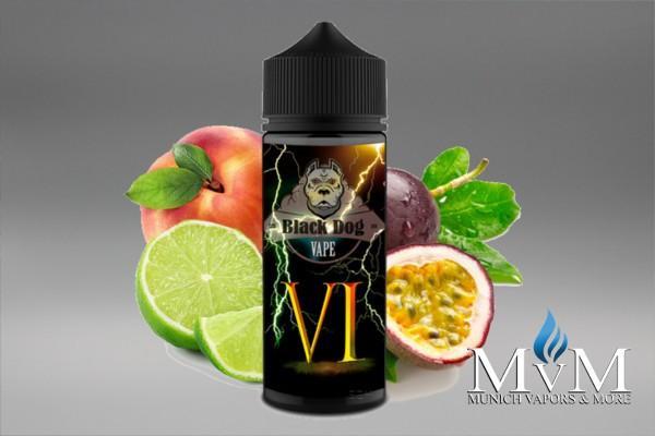 E-Zigarette, eLiquid, Fill Up, Long Fill ,Black Dog, VI , Aroma,20 ml