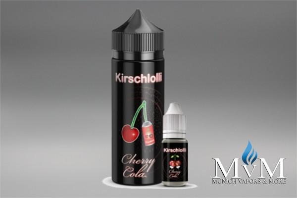 E-Zigarette, eLiquid, Fill Up, Short Fill ,Kirschlolli, Cherry Cola,  Aroma, 10 ml