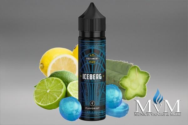 e-Zigaretten, eLiquid, Fill Up, Short Fill ,Flavorist, IceBerg, 15 ml