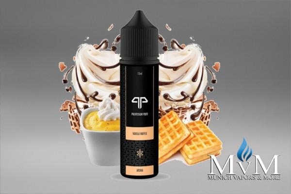 E-Zigarette, eLiquid, Fill Up, Long Fill ,Vanilla Waffle, Dark Summer, Aroma, 15 ml