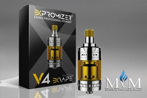 eZigarette, Atomizer, Verdampfer, eXvape - eXpromizer V4, MTL, 2ml
