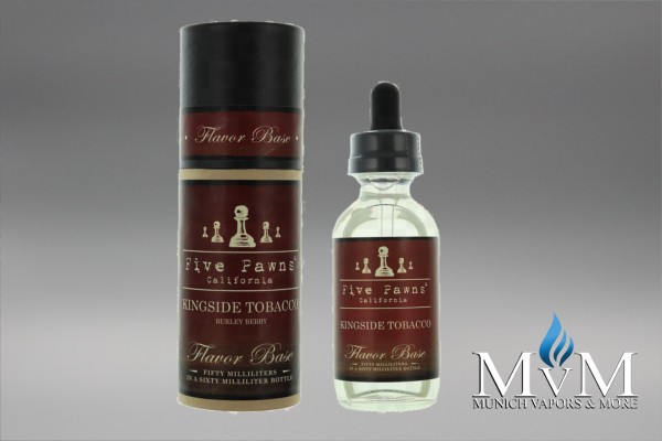 e Liquid, e-Liquid, eLiquid, eliquids, eLiquid, Five Pawns, King Side Tobacco, Flavor Tobacco