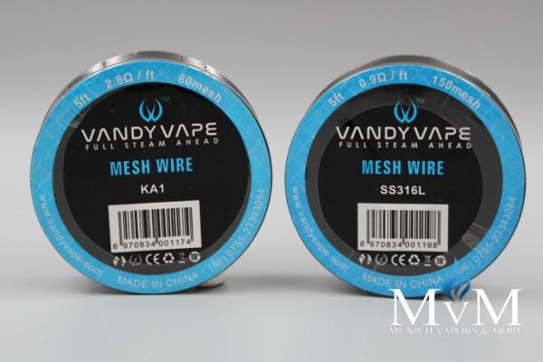 eZigarette, DIY, Vandy Vape Mesh RDA Wire, Wickeldraht