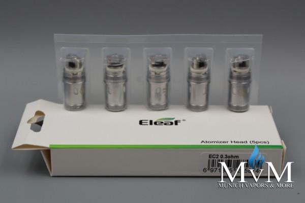 eZigarette, Coil, Verdampfer, Atomizer, ELeaf, EC2, Melo 4