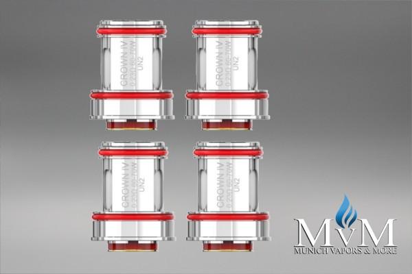 eZigarette, Coil, Verdampfer, Atomizer, CROWN 4 (IV), UWELL, Ersatz Coil