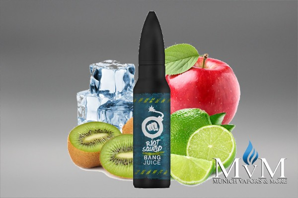 eLiquid, FillUp, Short Fill, Riot Squad, Bang, Juice, Kiwi Coallition ICE